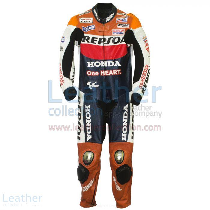 Shop Now Dani Pedrosa 2012 Honda Repsol One Heart Race Suit for SEK7,9