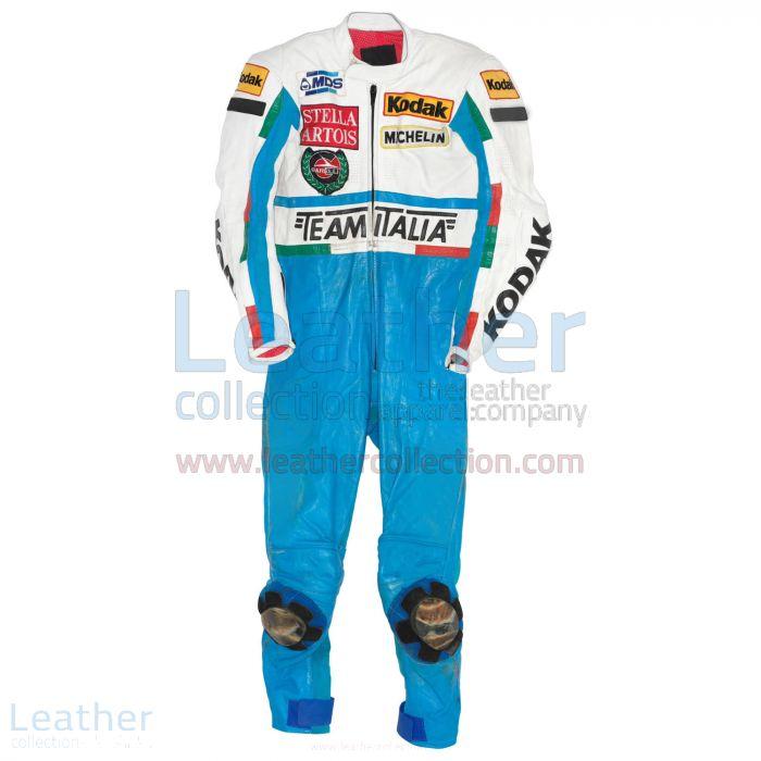 Fausto Gresini Garelli GP 1987 Motorbike Suit front view