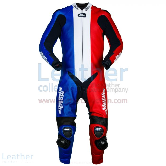 France Flag Race Leathers – Race Leathers | Leather Collection