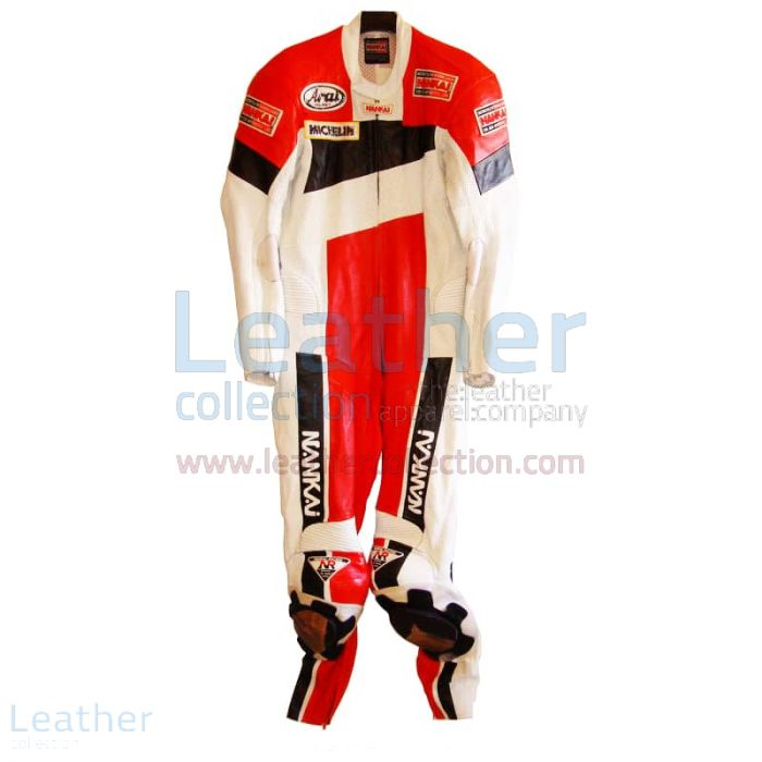 Freddie Spencer Nankai GP Replica Race Leathers front
