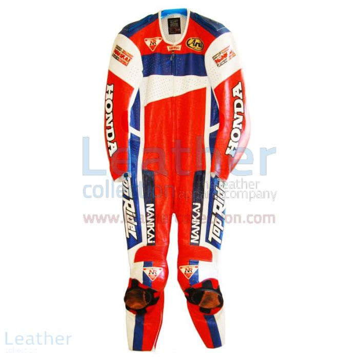 Shop Freddie Spencer Nankai Honda Motorcycle GP 1991 Leathers for ¥10