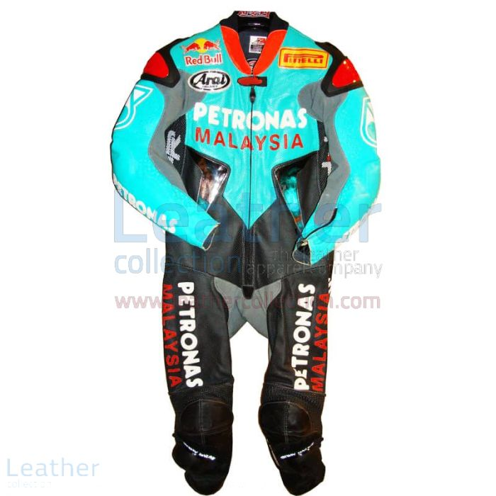 Claim Now Garry McCoy Replica Petronas GP 2005 Leather Suit for $899.0