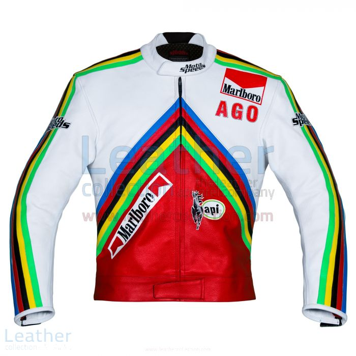 Purchase Giacomo Agostini MV Agusta GP 1975 Leather Jacket for A$607.5