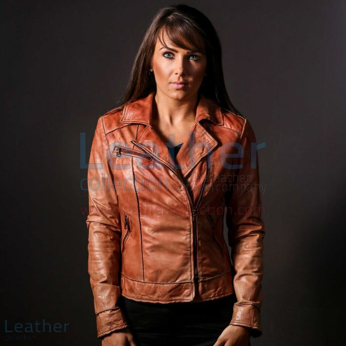 Ginger Leather Jacket – Leather Jacket for Women | Leather Collection