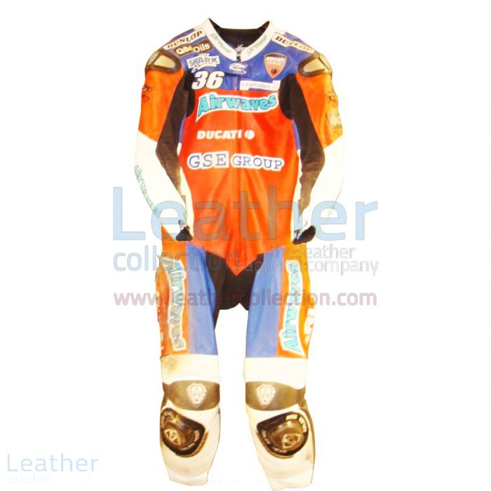 Claim Now Giancarlo Falappa Ducati WSBK 1993 Leathers for CA$1,177.69