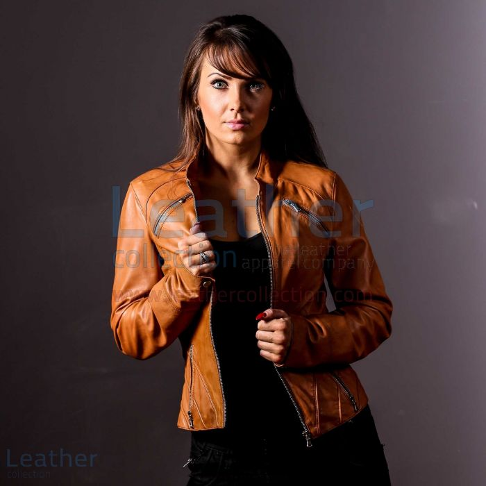 Tan Jacket Ladies | Buy Now | Leather Collection
