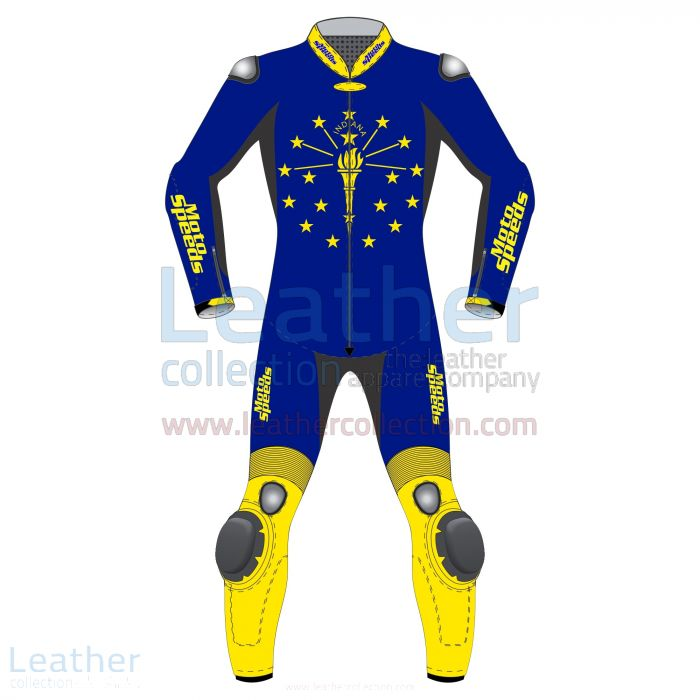 Grab Now Germany Vertical Flag Motorcycle Suit for CA$1,048.00 in Cana