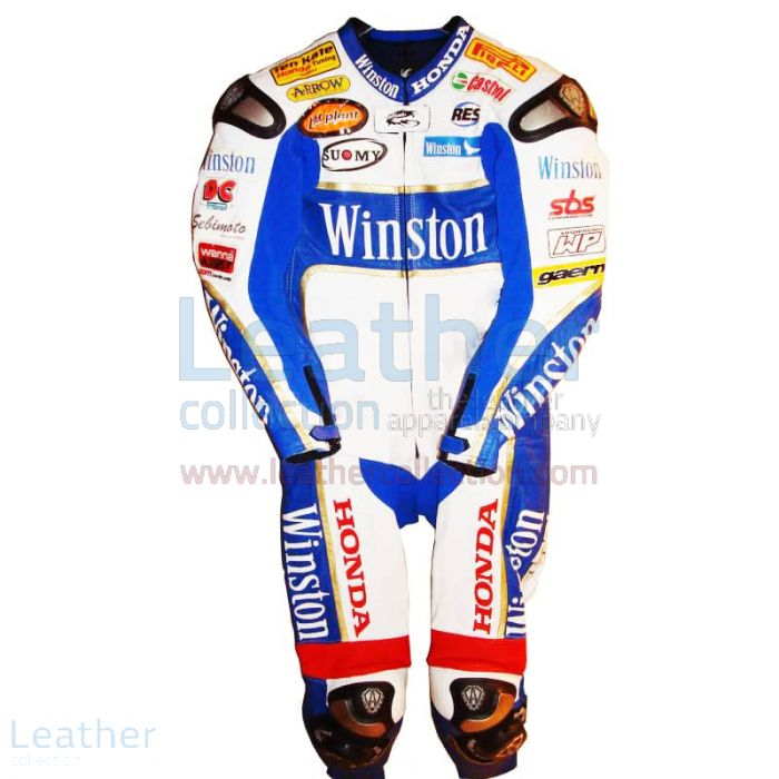 Online bestellen James Toseland Honda WSBK 2006 Leder €773.14