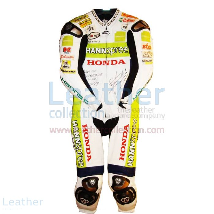 James Toseland Honda WSBK 2007 Leathers front