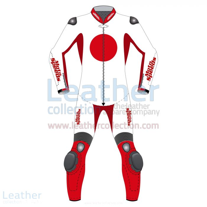 Compra Ahora Traje Moto – Japan Bandera Traje – Leather Collection