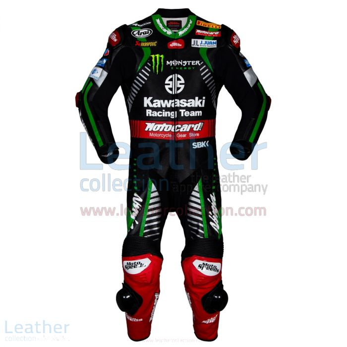 Customize Now Jonathan Rea Kawasaki WSBK 2018 Leather Suit for SEK7,91