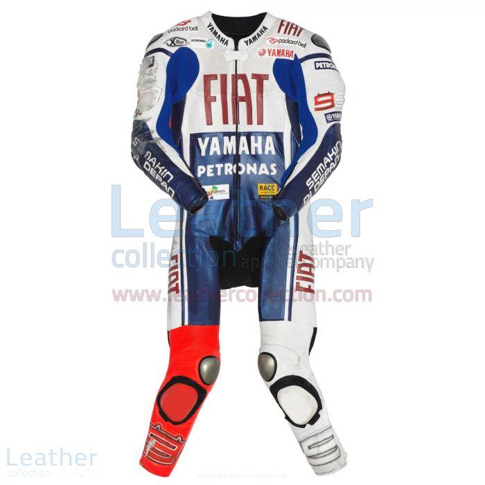 Jetzt bestellen Jorge Lorenzo Yamaha Fiat MotoGP 2010 Leder