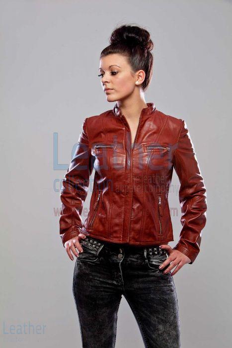 Karma Leather Jacket – Leather Jacket Women | Leather Collection