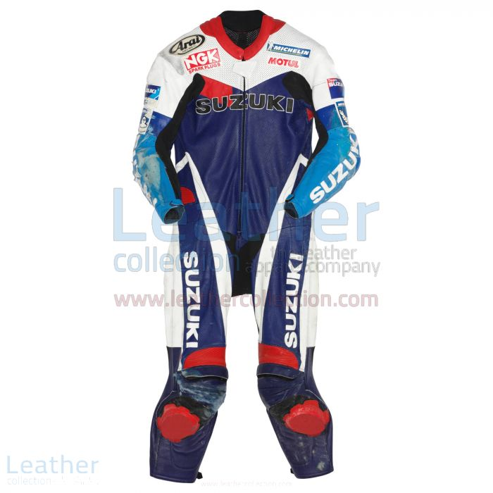 Kenny Roberts jr Suzuki GP 1999 Leathers front