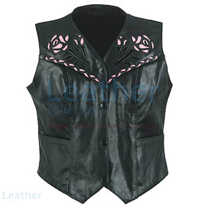 Compra Chaleco De Piel Mujer – Chaleco Cuero – Leather Collection