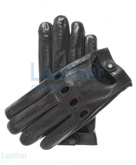 Guantes Para Conducir – Guantes De Cuero Negro – Leather Collection