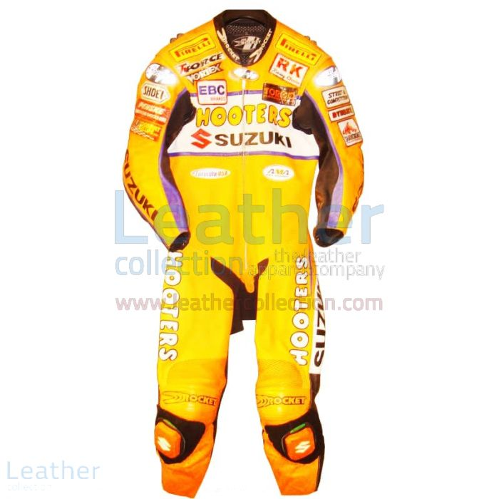 Order Now Larry Pegram Suzuki AMA Motorcycle Leathers for $899.00