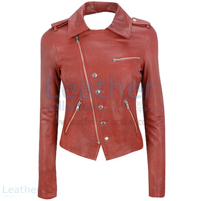 Asymmetrical Leather Jacket Womens | Buy Now | Leather Collection