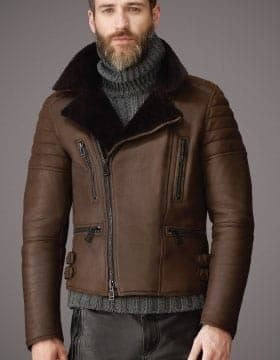 Jackets For Men – Mens Leather Jacket With Fur Collar   Finest Jackets Of Leather