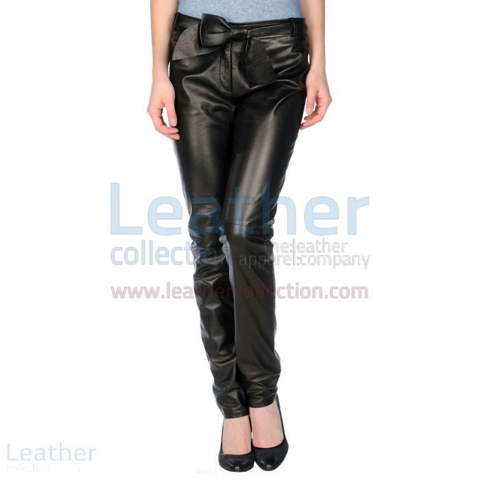 Womens Black Leather Pants   Buy Now   Leather Collection