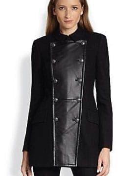Manteaux Femme – Manteau Pois – Acheter Maintenant Modeste Prix | Leather Collection