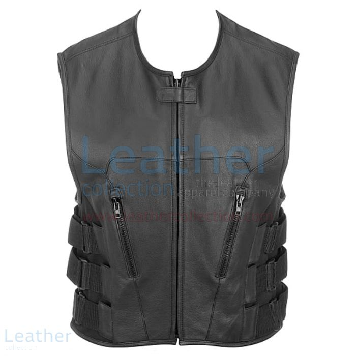 Leather Riding Vest | Buy Now | Leather Collection
