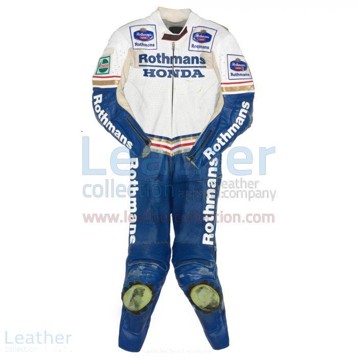 Pick it Online Luca Cadalora Rothmans Honda GP 1991 Leather Suit for S