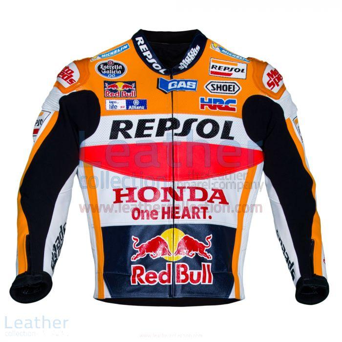 以下のための今すぐマルク・マルケスのホンダレプソルモトGP 2016レザージャケットを、それを選択してください