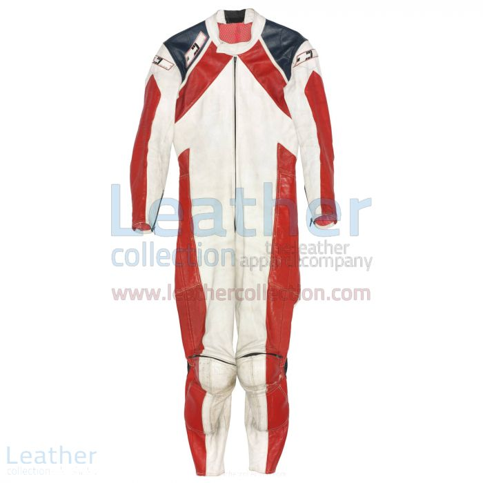 Mario Lega Racing Suit Ducati 1979 Front View