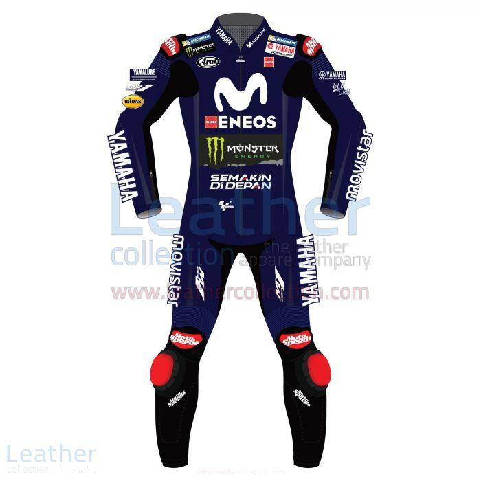 Order Now Maverick Vinales Movistar Yamaha MotoGP 2018 Suit for A$1,21