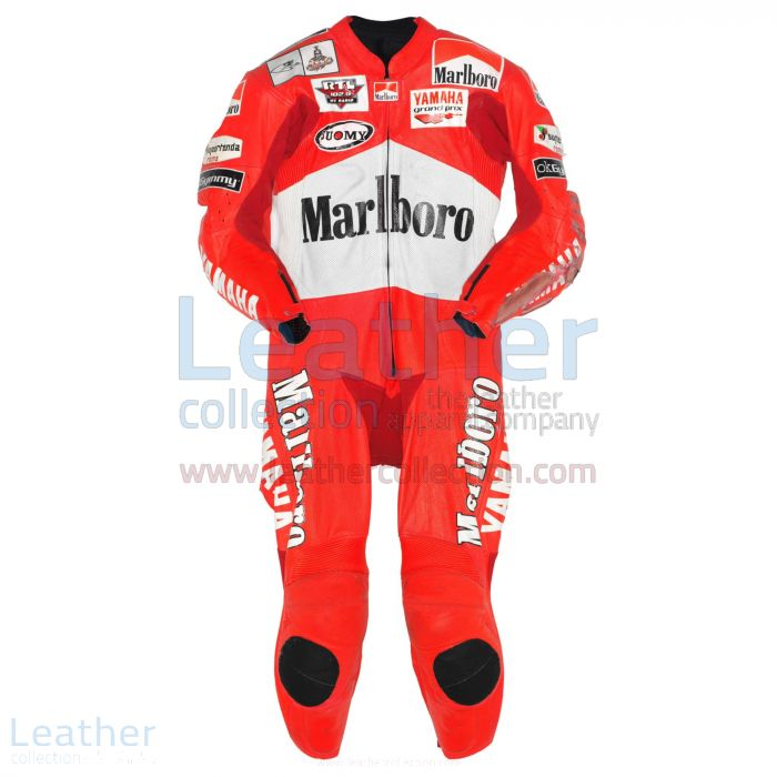 Passen Sie jetzt an Max Biaggi Marlboro Yamaha GP 2001 Leder €773.14