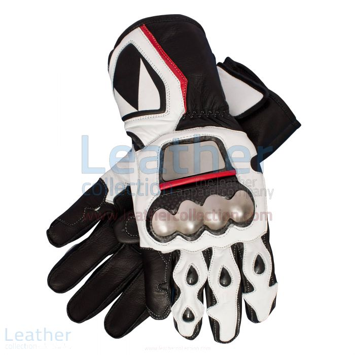 Buy Now Max Biaggi Motorcycle Race Gloves for $225.00
