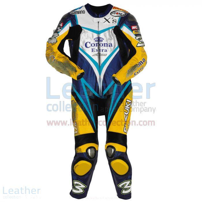 Purchase Now Max Biaggi Suzuki WSBK 2007 Leathers for $899.00