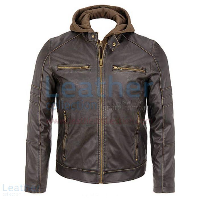 Capucha Cuero Hombre – Capucha De Cuero – Leather Collection