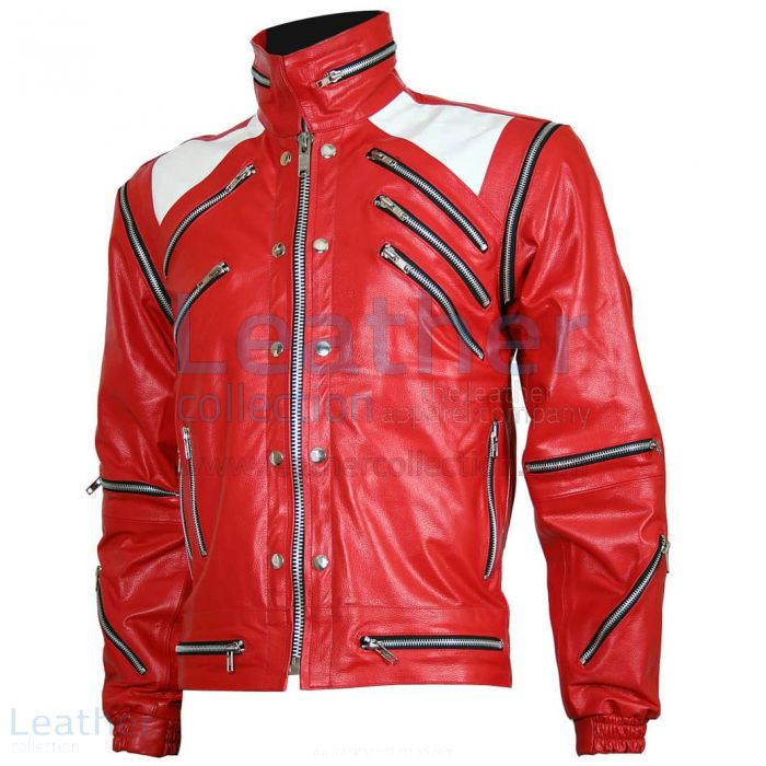 Pick up Michael Jackson Beat It Leather Jacket for SEK3,212.00 in Swed