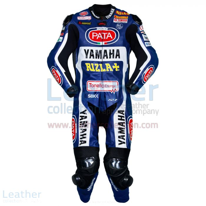 Shop Michael van der Mark Yamaha SBK 2017 Race Leather Suit