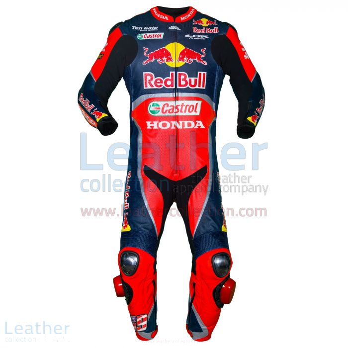 Jetzt anbieten Nicky Hayden Red Bull Honda WSBK 2017 Rennanzug €773.