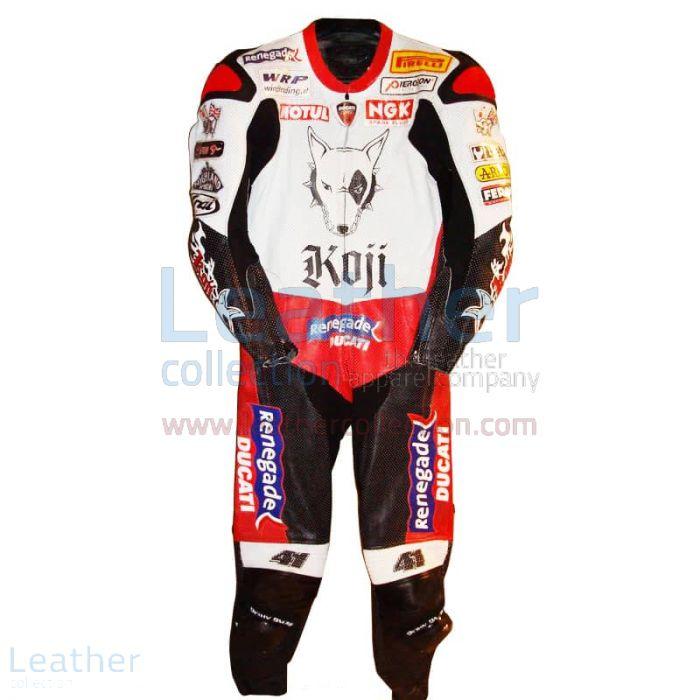 Offrendo ora Noriyuki Haga Ducati WSBK 2004 Tuta da Gara €773.14