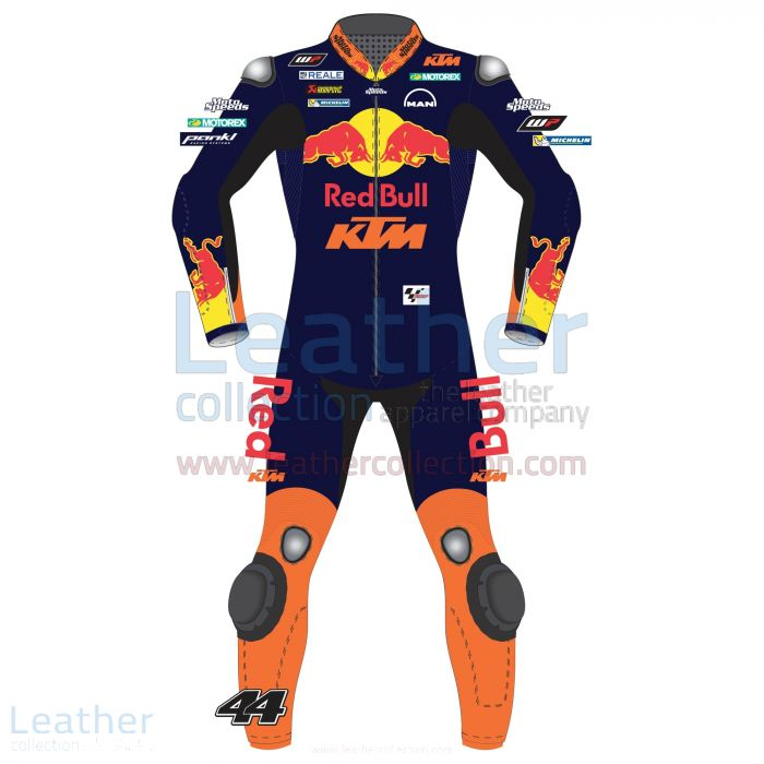 Pol Espargaro Red Bull KTM MotoGP 2015 Leather Suit front