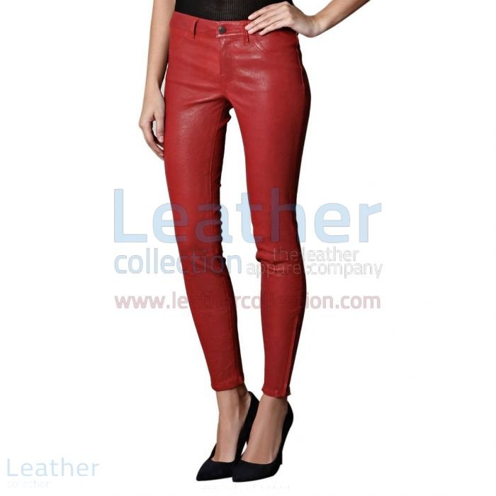 Red Leather Pants | Buy Now | Leather Collection