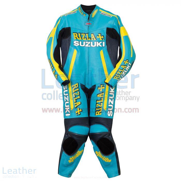 Rizla Suzuki Motorbike Racing Suit Front View