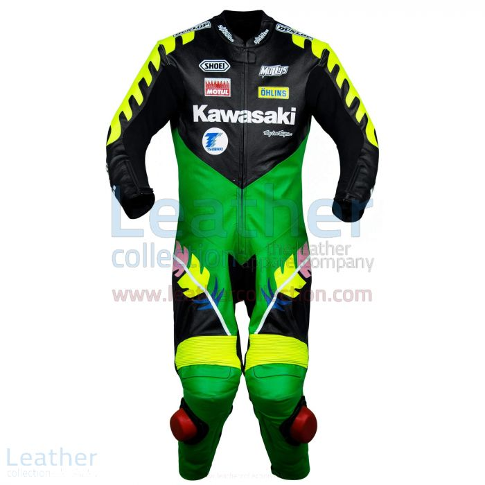 Buy Now Scott Russell Kawasaki GP 1993 Leather Suit for SEK7,911.20 in