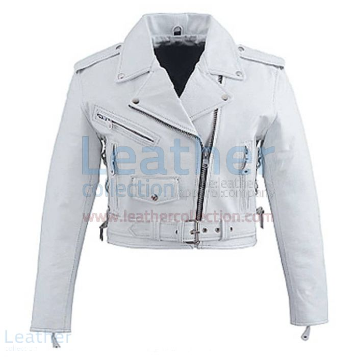 Buy Now Snow Brando Style Biker Leather Jacket for $199.00