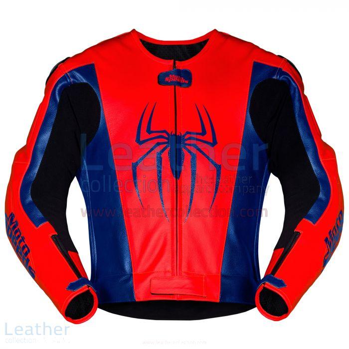 Anspruch Spiderman Jacke aus Leder