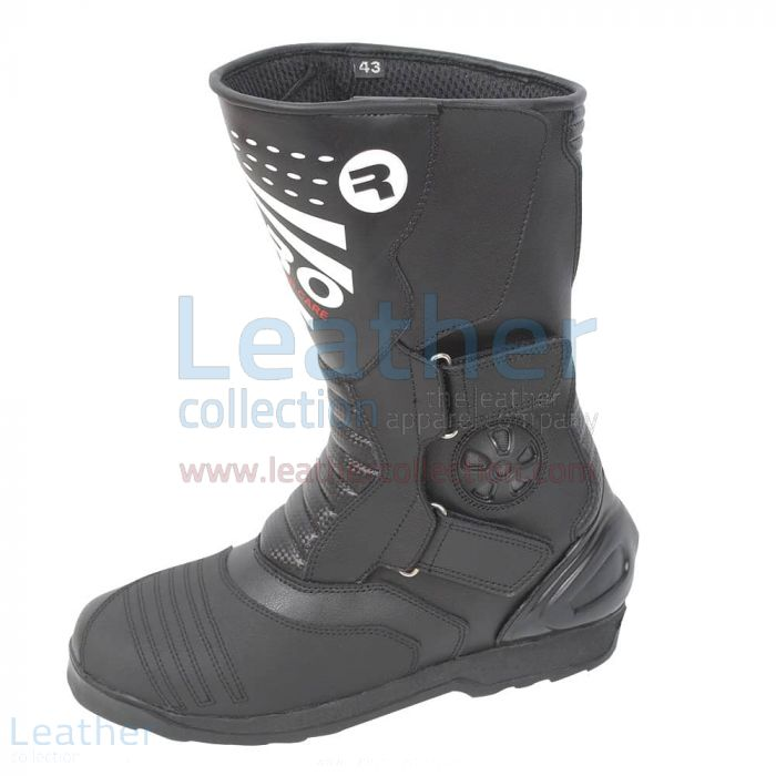 Pick up Online Superior Biker Leather Boots for $199.00