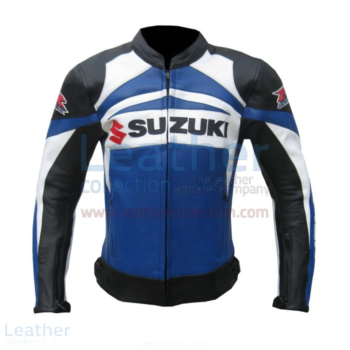 Suzuki GSXR Leather Jacket front