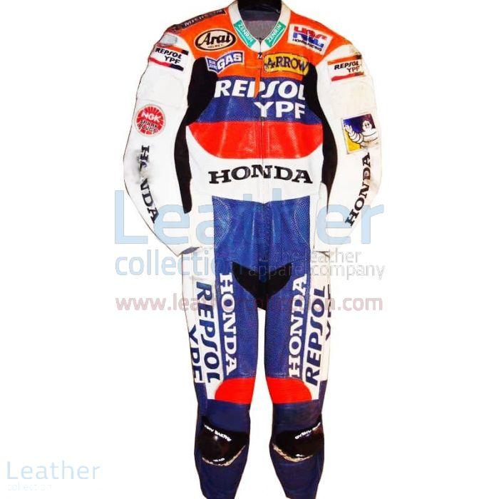 Shop Tadayuki Okada Honda Repsol GP 2000 Moto Leathers for SEK7,911.20