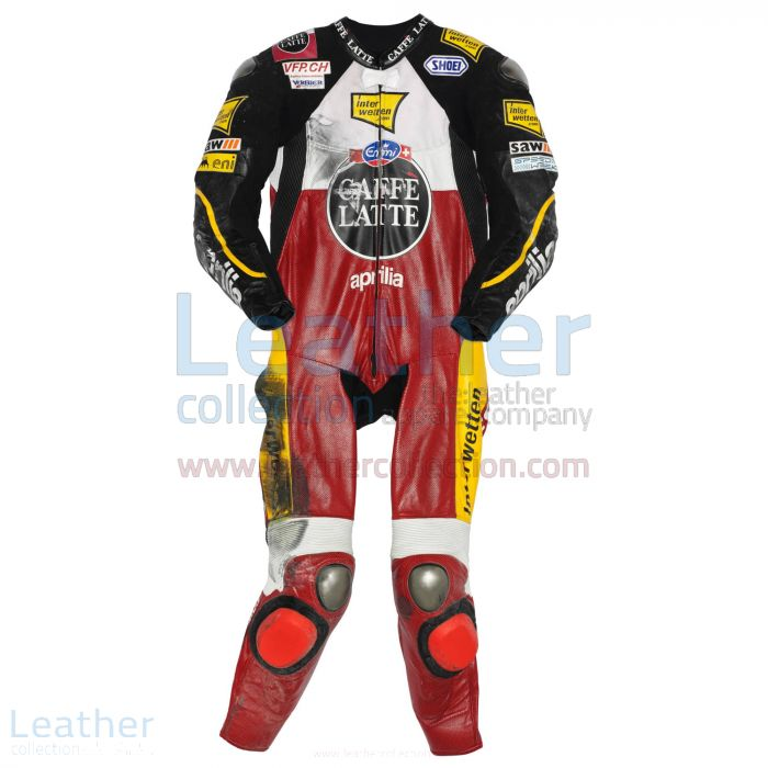 Thomas Luthi Aprilia GP 2009 Leather Suit front view