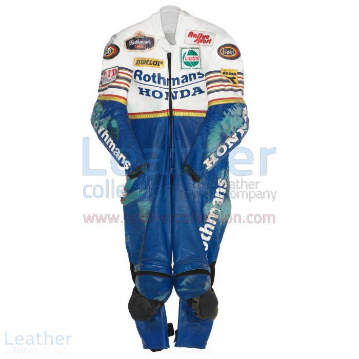 Online bestellen Toni Mang Rothmans Honda GP 1987 Rennanzug €773.14