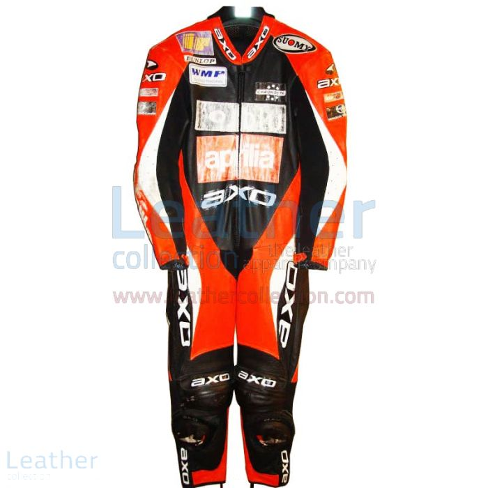 Troy Corser Aprilia WSBK 2000 Racing Leathers front